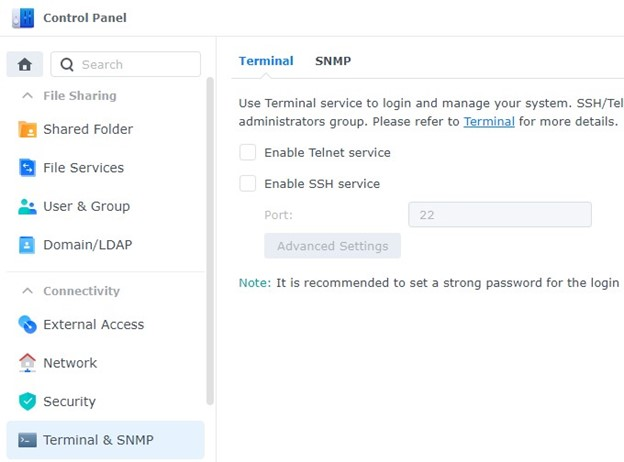 How to Secure a Synology NAS
