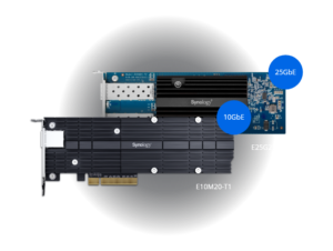 NAS Synology RS2421+ card 10/25GbE